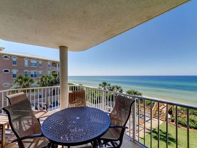 Photo for Beautiful Gulf Front Condo ~ Quiet Beach Community ~ Gorgeous Views of the Gulf!