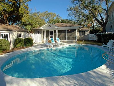 Photo for East Beach Cottage with a POOL!