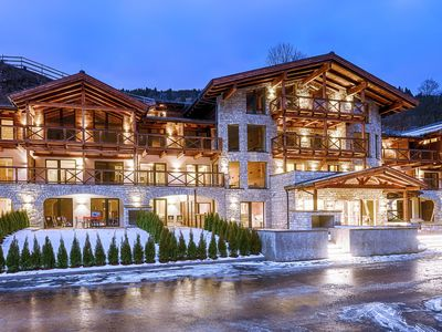 Photo for Luxurious apartment in well-known Saalbach, breakfast included