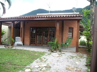 Photo for House 4 bedrooms (2 suites) in Lázaro in Ubatuba 5min from the beach