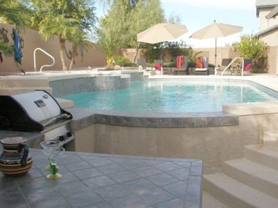 Photo for Chandler Single Family/Heated Pool & Spa/Swim up Bar