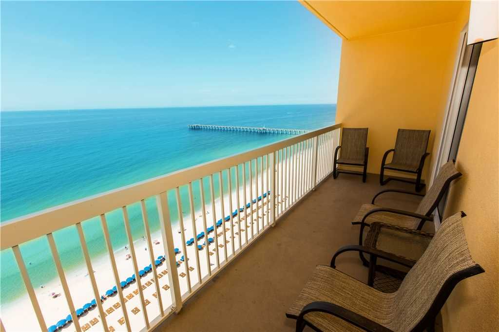 Hardwood floors and 18th floor ocean front view with for 18th floor balcony music