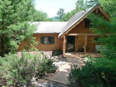 Photo for Phoenicia/Belleayre Log Home-Beautiful Setting, 5 Minutes to Skiing & Swimming