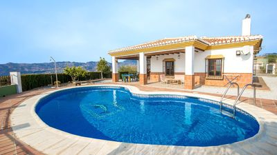 Photo for Lovely holiday home with magnificent views and pool