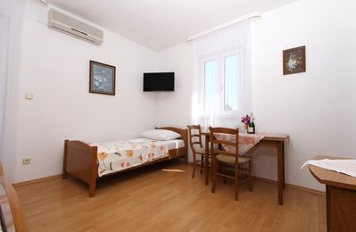Photo for Studio flat with balcony Kaštel Štafilić, Kaštela (AS-15802-b)