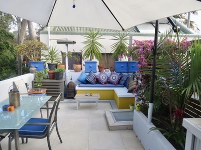 Photo for Terrace with great outdoor space