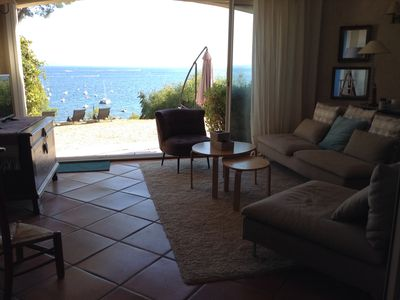 Photo for Villa seaside, 50m from the beach. Exceptional view