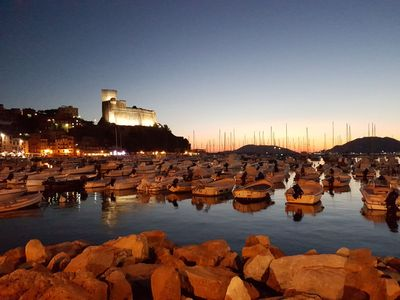 Photo for Lerici, pedestrian zone, 80mt sea, 500mt beach, roof terrace, wifi, SatTV