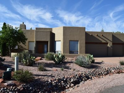 Photo for Beautiful Home in the Chapel area with an Observation Deck that has Red Rock Views and a private pool! INDIAN - S055