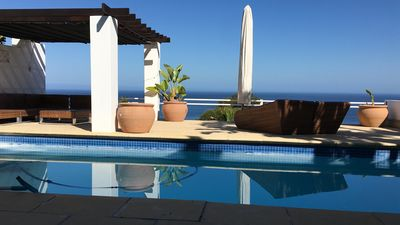 Photo for Spectacular, easy living villa in secure Bantry Bay Area.