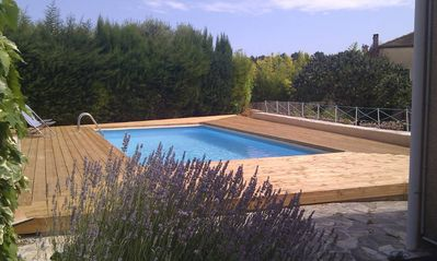 Photo for Beautiful Villa in full South calm, clear view, garden and private swimming pool