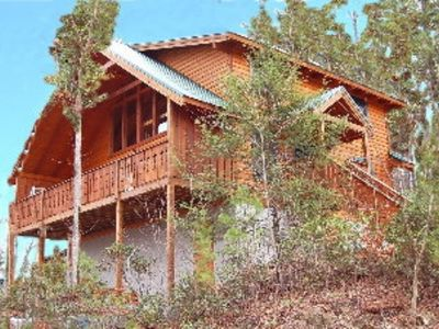 Photo for Large luxury Cabin located close to downtown Gatlinburg and Pigeon Forge