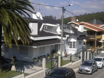 Photo for House with 4 bedroom apartment with pool churasqueira terrace, 25 km from Porto
