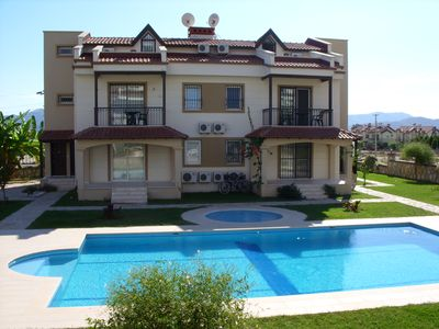 Photo for 3 Bed, 2 Bath Apartment In Calis Beach. Full Size Swimming Pool & kids pool