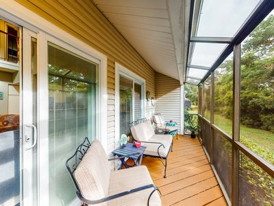 Photo for NEW LISTING! Coastal townhome near the beach w/ shared pool & tennis courts