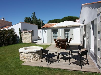 Photo for Restored cellar, private enclosed garden near village center and beach St Denis Oléron
