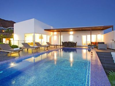 Photo for Villas Hoopoe Lanzarote, Playa Blanca  in Lanzarote - 7 persons, 4 bedrooms