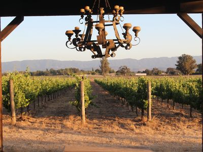 Photo for Romantic Get Away on Organic Vineyard & short stroll to downtown Los Olivos!