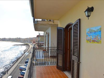 Photo for Camelia House 2 - Apartment in front of the beach in Giardini Naxos