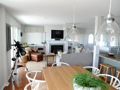 Photo for Beach front property with bonus lower level