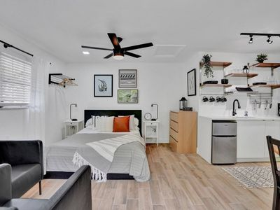 Photo for Recently Renovated! Studio Apartment just 7 Min. Walking Distance from Beach! - Unit #18B