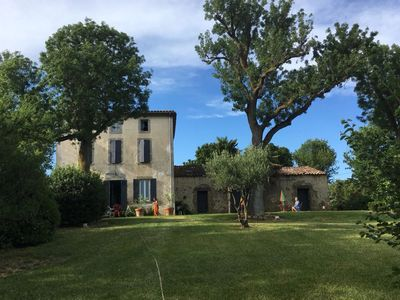 Photo for Maison de Maitre with beautiful view, huge gardens & private pool.