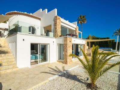 Photo for Vacation home La Palmera in Moraira - 10 persons, 4 bedrooms