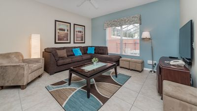 Photo for Budget Getaway - Paradise Palms Resort - Feature Packed Contemporary 4 Beds 3 Baths Townhome - 4 Miles To Disney