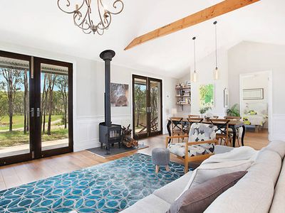 Photo for Hunter Valley Barrington Villa on 100 acres Air Con, Fire,  Inc. Breakfast, Wine