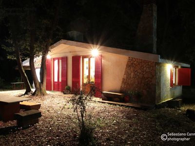 Photo for Chalet in the woods nestled in the oak forest in Monterosso Etneo.