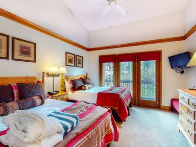 Photo for 2nd floor charming skier's studio w/ golf nearby, shared pool, skiing nearby