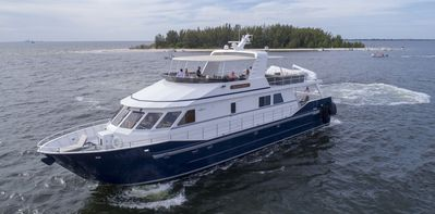 Photo for 90' custom built luxurious yacht Tampa Bay Florida