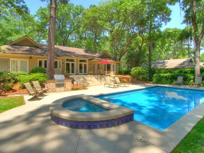 Photo for Fairway to Heaven! Sea Pines Home with Pool and Golf Course