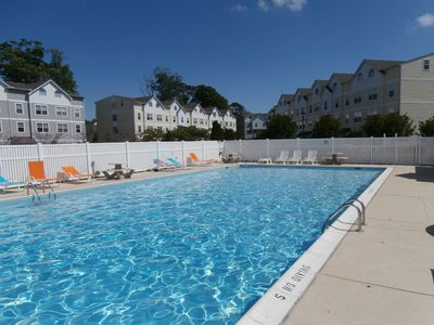 Photo for Spacious Downtown Rehoboth Beach Townhouse w/ Pool Clean & Comfortable