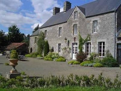 Photo for 18th mansion located along quiet village near Mont St Michel