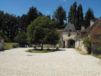 Photo for Le moulin de Valliere. Restored farm with character. Peaceful and self-catering