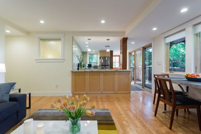 Newly constructed apartment in North Berkeley Craftsman home