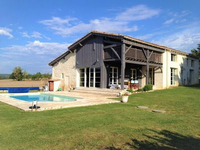 Photo for Luxury Farmhouse With Private Pool In Picturesque Setting, Perfect for Families