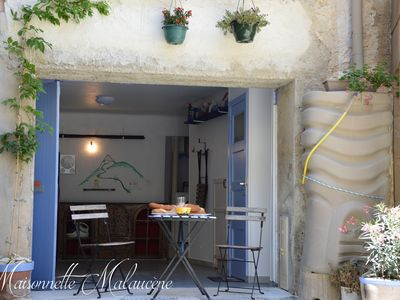 Photo for Nice & authentic, renovated Maisonnette with garage (for sporters) -Mont Ventoux