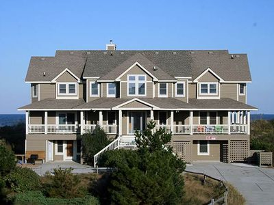 Photo for #484: OCEANFRONT in Corolla w/HeatedPool, HotTub, Elev. & RecRm