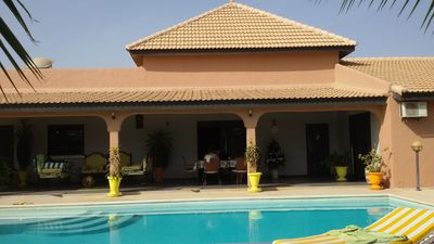 Photo for Saly: Very comfortable villa with garden private pool