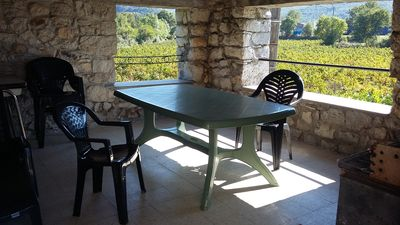 Photo for detached stone house next to the confluence of ardeche and chassezac
