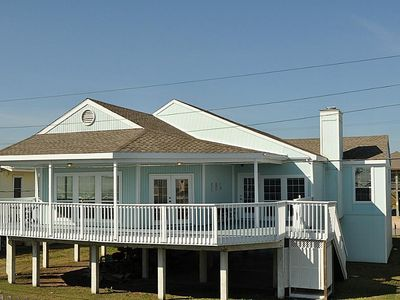 Photo for Steps from the beach!!  Beautiful inside, New paint outside, spacious and open