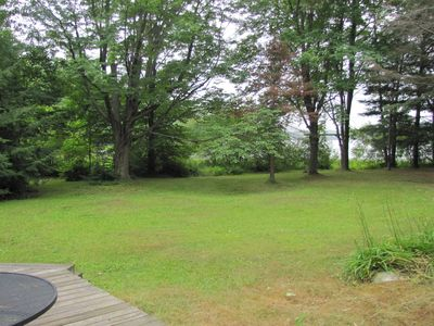 Large Lawn area for playing.
