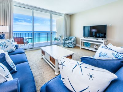 Photo for ☀Majestic 2-1703☀2BR Beachfront! DEALS! Oct 3 to 6 $640 Total! 5 Pools-FunPass