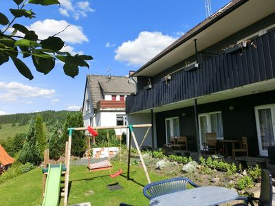 Photo for Detached group house in the Upper Harz with large garden and playground