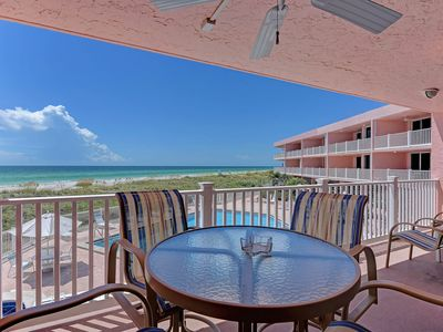 Photo for Waterfront living w/ furnished balcony, great views & shared pool