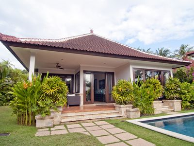 Photo for 2 bed room villa with private pool