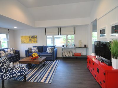 Photo for Ocean Beach Beautifully decorated and immaculate 4 bedroom beach house- SLEEPS 9