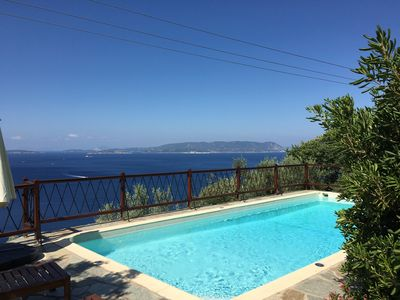 Photo for The Music House - a spacious pool villa with panoramic views of the Aegean Sea
